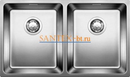 Мойка BLANCO ANDANO 340/340-IF нержавеющая сталь полированная