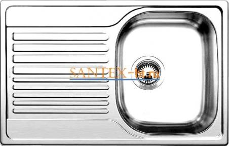 Мойка BLANCO TIPO 45 S Compact нержавеющая сталь полированная