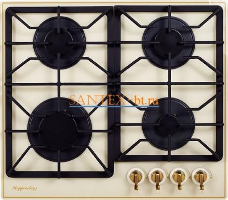 Варочная панель газовая Kuppersberg FQ663 C Bronze
