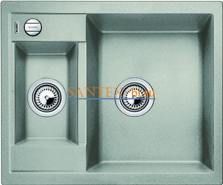 Мойка BLANCO METRA 6 SILGRANIT с клапаном автоматом