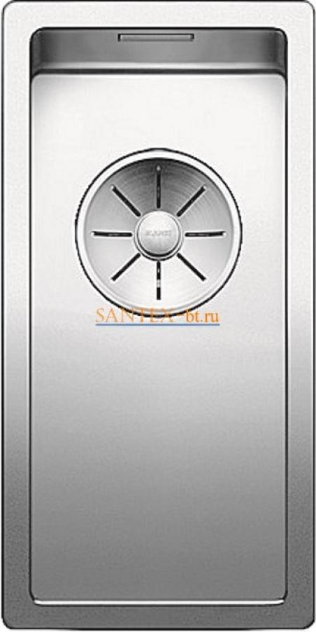 Мойка BLANCO CLARON 180-U нержавеющая сталь зеркальная полировка