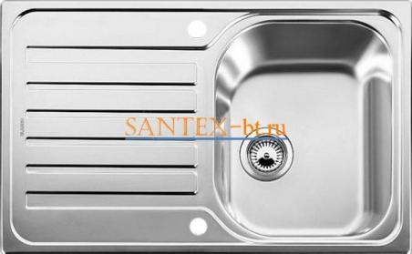 Мойка BLANCO LANTOS 45 S-IF Compact с клапаном-автоматом нержавеющая сталь полированная