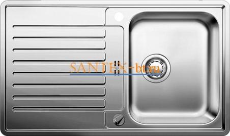 Мойка BLANCO CLASSIC PRO 45 S-IF нержавеющая сталь зеркальная полировка с клапаном-автоматом