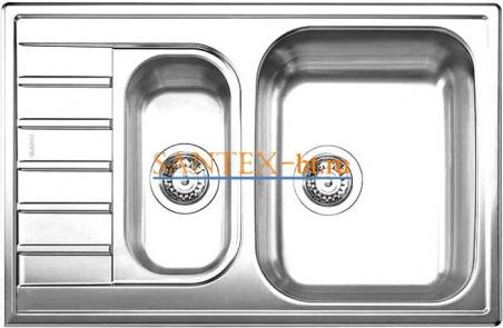 Мойка BLANCO LIVIT 6 S Compact нержавеющая сталь полированная
