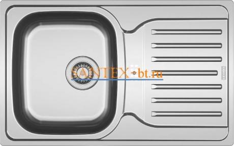 Мойка FRANKE POLAR PXN 614-78 нержавеющая сталь матовая