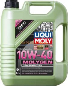 Моторное масло LIQUI MOLY Molygen New Generation 10W-40 5 л