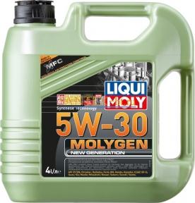 Моторное масло LIQUI MOLY Molygen New Generation 5W-30 4 л