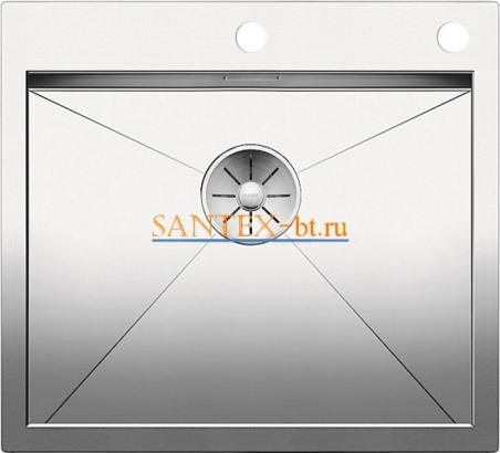 Мойка BLANCO ZEROX 500-IF/А с клапаном-автоматом нержавеющая сталь зеркальная полировка