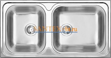 Мойка BLANCO TIPO XL 9 нержавеющая сталь полированная