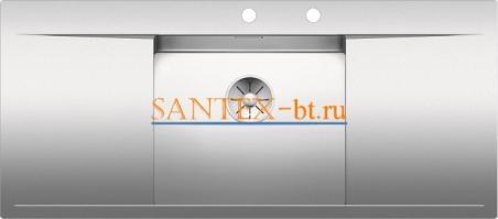 Мойка BLANCO FLOW 5 S-IF с клапаном-автоматом нержавеющая сталь зеркальная полировка