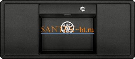Мойка BLANCO ALAROS 6 S SILGRANIT с клапаном-автоматом и черной доской