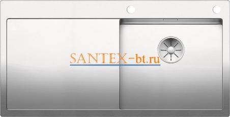 Мойка BLANCO CLARON 5S-IF/А с клапаном-автоматом, чаша справа, нержавеющая сталь зеркальная полировка