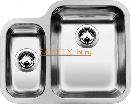 Мойка BLANCO YPSILON 550-U чаша справа, нержавеющая сталь полированная