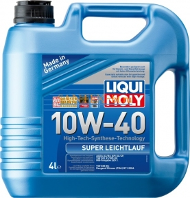Моторное масло LIQUI MOLY Super Leichtlauf 10W-40 4 л