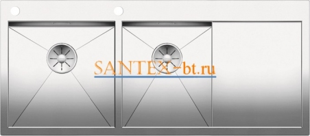 Мойка BLANCO ZEROX 8S-IF/А с клапаном-автоматом, чаша слева, нержавеющая сталь зеркальная полировка