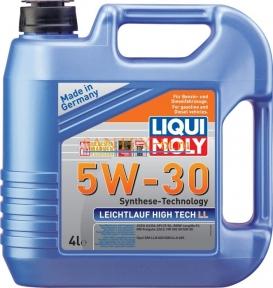 Моторное масло LIQUI MOLY Leichtlauf High Tech LL 5W-30 4 л