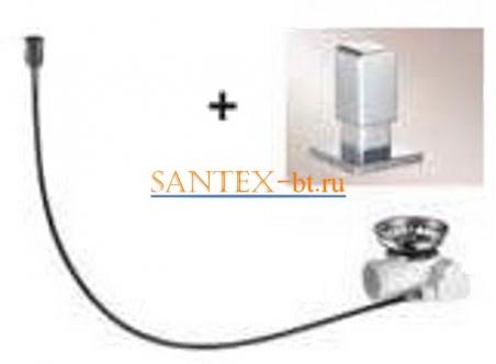 Набор доукомплектации клапаном-автоматом BLANCO LEVOS нержавеющая сталь зеркальная полировка 517548