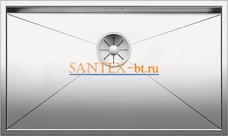 Мойка BLANCO ZEROX 700-IF нержавеющая сталь зеркальная полировка