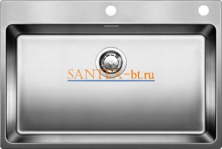 Мойка BLANCO ANDANO 700-IF-A с клапаном-автоматом, нержавеющая сталь зеркальная полировка