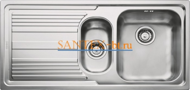 Мойка FRANKE LOGICA LINE LLX 651 чаша справа нержавеющая сталь полированная