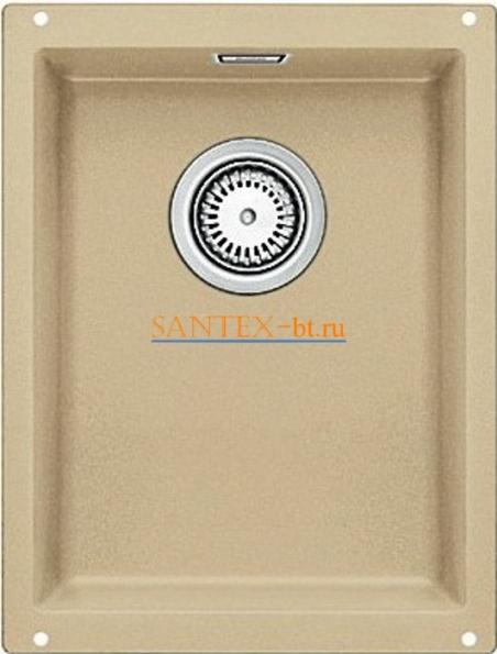 Мойка BLANCO SUBLINE 320-U SILGRANIT с клапаном-автоматом